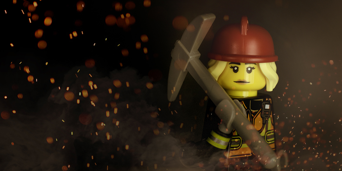 Firefighter by ZekeZachZoom